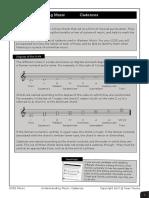 Understanding Music Cadences