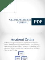 Anatomi Dan Oklusi Arteri Retina Central
