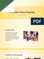 PPT Materi Sosiologi Kelas X Bab 5. Perilaku Menyimpang (KTSP)