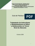 GPC Astrocitoma y Meduloblastoma