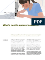 Whats Next in Apparel Sourcing