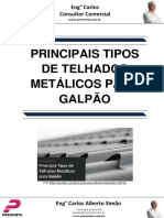 Principais Tipos de Telhados Metálicos Para Galpão