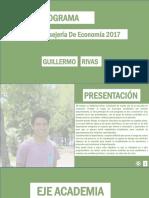 Programa Consejero Economia - Guillermo Rivas