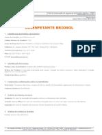FISPQ Desinfetante Briosol