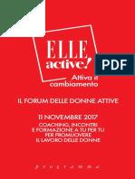 Programma Elle Active 2017
