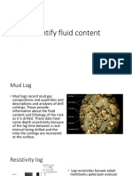 Identify Fluid Content With Resistivity Log