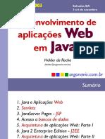 Desenvolvimento de aplicacações WEB em JAVA