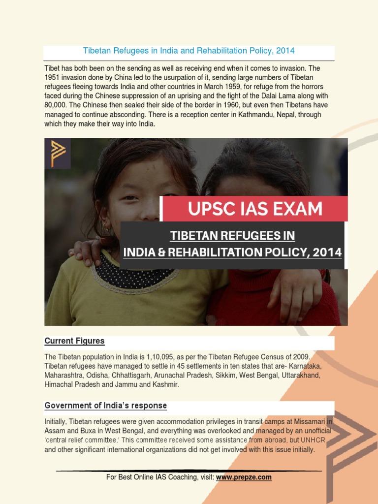 Current Affairs for IAS Exam (UPSC Civil Services) | tibetan