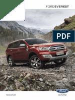 Ford Everest Brochure