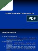 3. Penentuan Debit Air Buangan - New