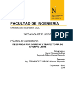 Informe Aplicacion de La Ecuación de Bernoulli (1)