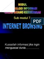 Modul 7 Internet Browsing