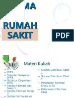 Farmasi Rumah Sakit Bab i Rs