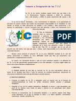 Plan de Fomento e Integracion de Las T2