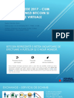 Criptomonede 2017 - Cum Tranzacționezi Bitcoin Si Alte