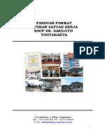Format Laporan Satuan Kerja Rsup Dr Sardjito