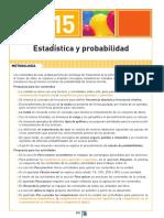 Unidad 15. Estadística y Probabilidad