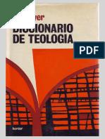 BOUYER, L. - Diccionario de Teología, Herder, Barcelona 1973