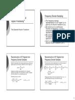ECE411 - 6 - The Discrete Fourier Transform and the Fast Fourier Transform