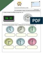 Evaluacion de Proceso -La Hora