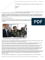 Academic OneFile - Document - The Value of Science is in the Foresight New Challenges Demand Rethinking the Forms and Methods of Carrying Out Combat Operations