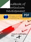 Handbook of Curriculum Development