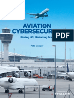 Aviation Cybersecurity—Finding Lift, Minimizing Drag