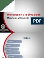 Modelación y Simulación 1 - Unidad 5 1