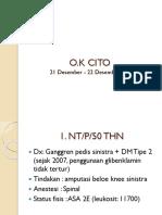 Laporan Jaga o.k Cito 21 Desember