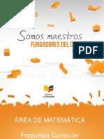 Matemática - Curriculo 16-09-2015