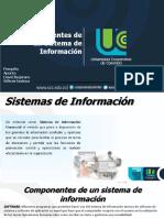 Componentes de Un Sistema de Informacion. s.i.g