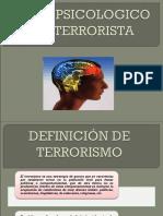 150367167 Perfil Psicologico Del Terrorista