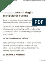 Čomski_ Deset Strategija Manipulacije Ljudima