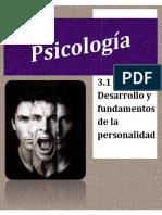 FUNDAMENTOS BASICOS DE LA PERSONALIDAD