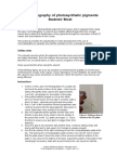 SAPS - Chromatography of Photosynthetic Pigments - Student Notes (1)