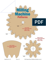 Milling Machine Patterns and Setup