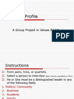 Leader's Profile