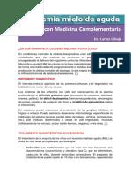Leucemia Tratada Con Campos Magnéticos y Quimioterapia.