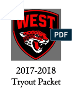 tryout packet