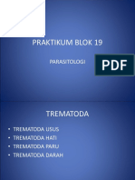 Praktikum Blok 19 Trematoda