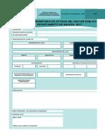 Formato Inventario Infraestructura Vial