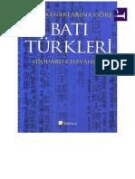 Edouard Chavannes - Çin Kaynaklarına Göre Batı Türkleri