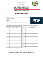 Ficha de Tardanza