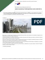 Panamá Impulsa Integración Económica Centroamérica Como Sede de La Reunión Del Comieco