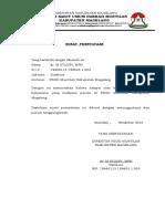 Surat Pernyataan Dokter Kerjasama