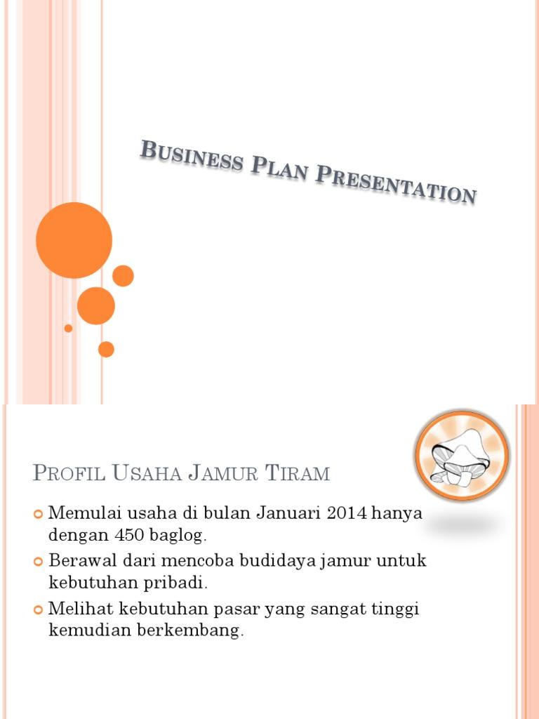 business plan jamur merang