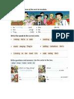 Repaso Ingles 5 Primaria Tema 1