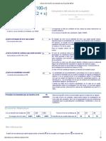 Cálculo Del Tamaño de La Muestra by Raosoft & MRLG