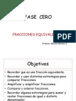 UNIDAD CERO Fracciones