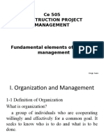 CPM 1 - Fundamental Elements of Project Management